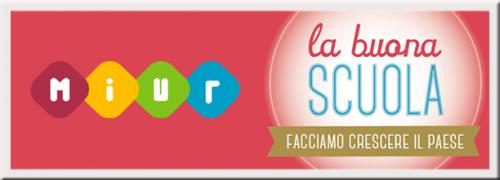 La Buona Scuola MIUR banner