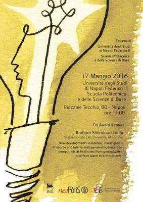 locandina eni award   Univ Napoli